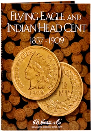 HE Harris Coin Folder Indian Head Cent, 1857-1909 #HECF2671