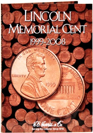 HE Harris Coin Folder Lincoln Memorial Cents, 1999-2008 #HECF2705