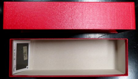 DISPLAY CARDS BOX For 102 Cards #HECO102BOX