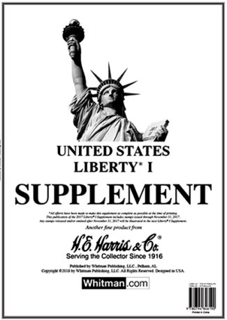 H.E.Harris U.S. Liberty 1 2016 Supplement #HELIB116