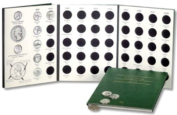 Littleton State Quarter Folder 1999-2008 DS LCF03