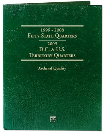 Littleton State/DC/Terr Quarter Folder 1999-2009 DS LCF03T