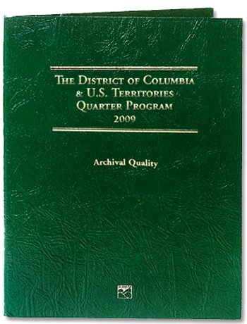 Littleton 2009 District of Columbia  U.S. Territory Quarter Folder PD LCF38