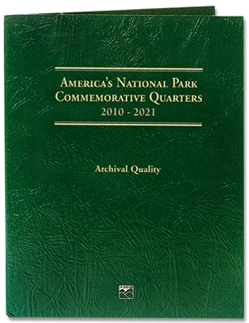 Littleton National Park Quarters Folder, 2010-2021 - DS<p><B><font size=3.5 color=red>*TEMPORARILY OUT OF STOCK*<font size=3 color=black><B><p> LCF39D