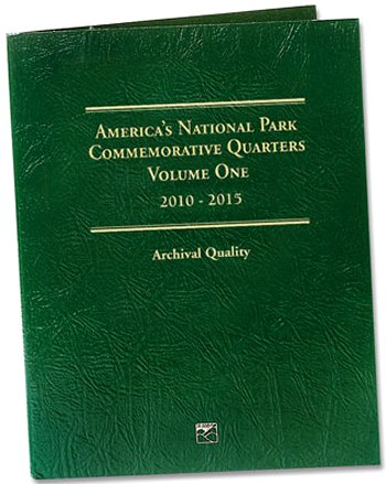 """Littleton National Park Quarters Folder No. 1, 2010-15 - PD"" LCF42D"