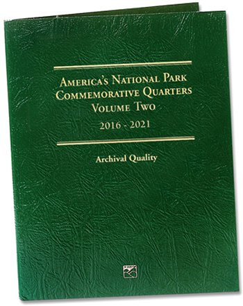 Littleton National Park Quarters Folder No. 2, 2016-21 - PD LCF44D