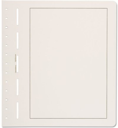 Lighthouse Blank Pages - with Black Boderline (pack of 50 sheets) LHPGBL19