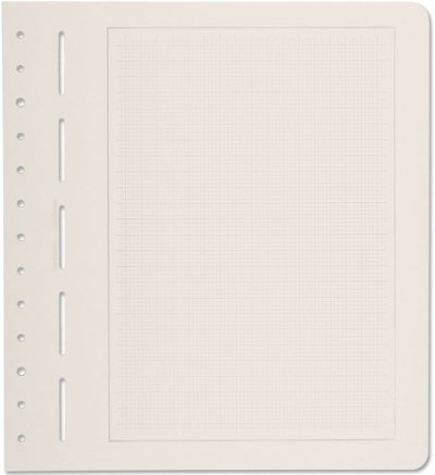 Lighthouse Blank Pages - mellow gray grid, gray border   304004 LHPGPRAZ