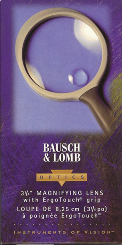 Bausch and Lomb 3 inch hand held magnifier - No. 813303 #MagBL3