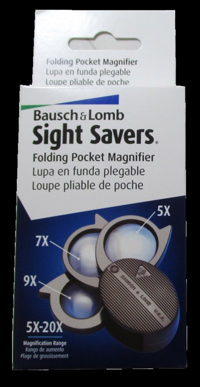 Bausch and Lomb 20 Power 3 Lens - No.  812367  #MAGBLFL