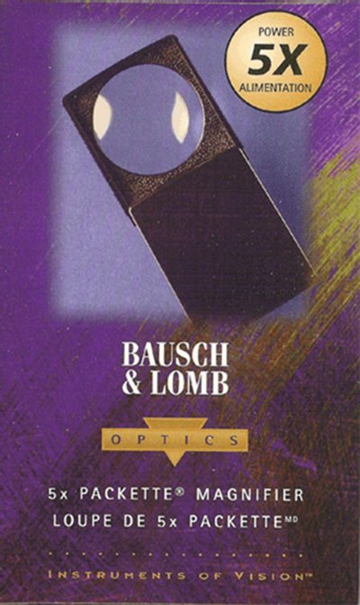Bausch and Lomb 5x Pocket Slide Mag/Glass - No. 813133 #MAGBLP