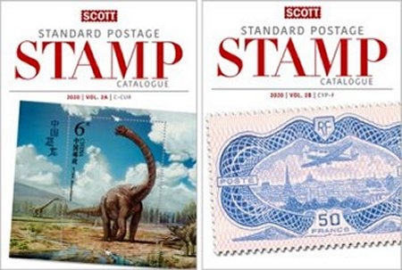 Scott STANDARD POSTAGE STAMP CATALOGUE 2020 VOLUME 2 COUNTRIES C-F AB  #SCCAT220