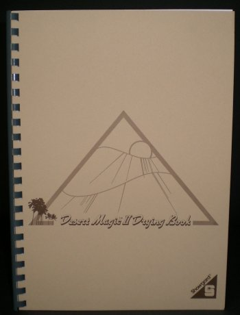 Showgard Desert Magic Drying Book 8 1/4 x 11 3/4 SH507