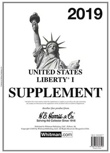 H.E.Harris U.S. Liberty 1 2019 Supplement HELIB119
