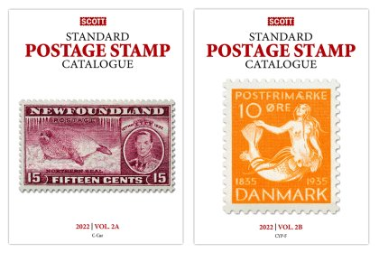 Scott STANDARD POSTAGE STAMP CATALOGUE 2022 VOLUME 2A-2B COUNTRIES C-F <p><B><font size=3 color=red>*Coming in May*<font size=3 color=black><B><p> SCCAT222