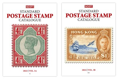 Scott STANDARD POSTAGE STAMP CATALOGUE 2022 VOLUME 3A-3B COUNTRIES G-I  <p><B><font size=3 color=red>*Coming in June*<font size=3 color=black><B><p> SCCAT322