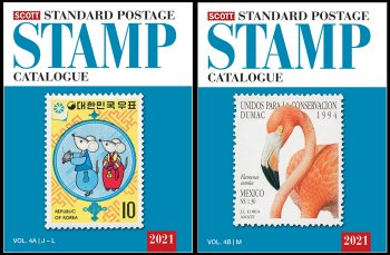 Scott STANDARD POSTAGE STAMP CATALOGUE 2021 VOLUME 4 COUNTRIES J-M  AB  <p><B><font size=3 color=black>*ONLY AVAILABLE WHILE SUPPLIES LAST*<font size=3 color=black><B><p> SCCAT421