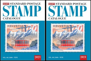 Scott STANDARD POSTAGE STAMP CATALOGUE 2021 VOLUME 6 COUNTRIES SAN MARINO-Z  AB  <p><B><font size=3 color=black>*ONLY AVAILABLE WHILE SUPPLIES LAST*<font size=3 color=black><B><p> SCCAT621