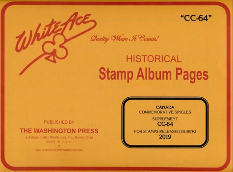 White Ace - CANADA Commemorative  Air Mail 2019 WACC64