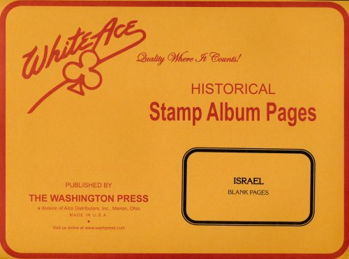 White Ace Israel Blank Pages (10)  WAISBL