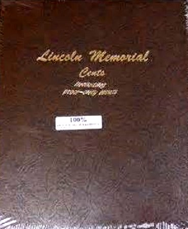 Dansco Album Lincoln Memorial Cents 1959-2009 including proofs DN8102