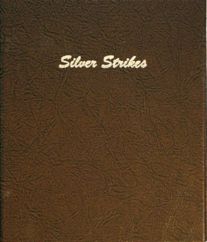 Dansco Album Silver Strikes 9 Pages Vinyl 12 2x2 Pockets  DN7004