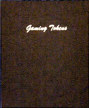 Dansco Album Gaming Token Plain 5 pages, 45 ports DN7005