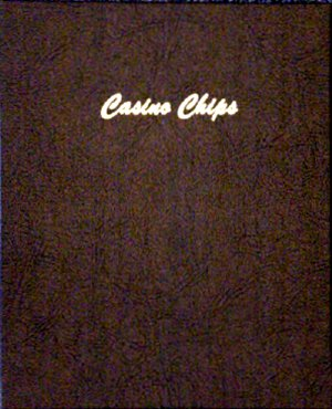 Dansco Album Casino Chips Plain 5 pages, 45 ports DN7007
