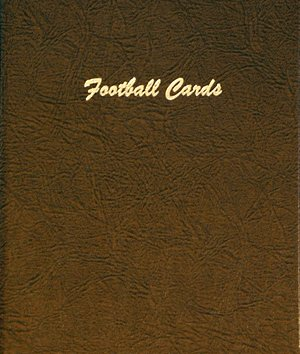 Dansco Album Football Cards 15 Vinyl Pages w/4 pockets each DN7017