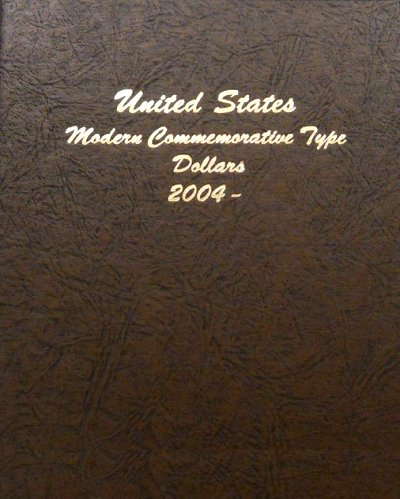 Dansco Album Modern Commemorative Type - Dollar 2004-2011 DN70622