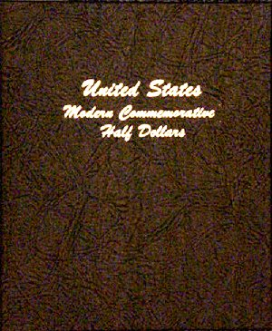 Dansco Album Modern Commemorative - Half Dollar 1982 to 2011S including proofs DN7063