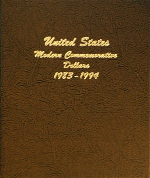 Dansco Album Modern Commemorative - Dollar 1983-1994 Vol 1 including proof DN70651