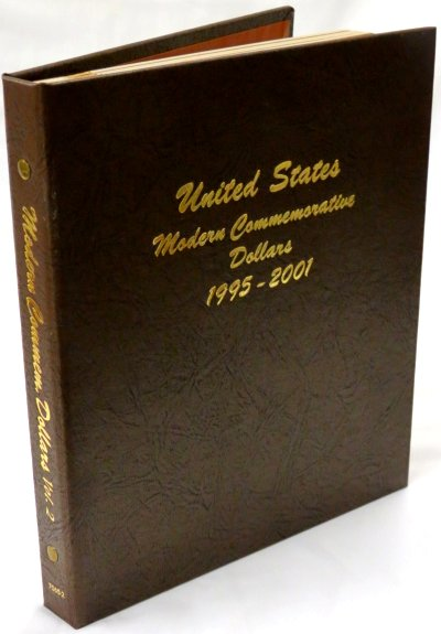 Dansco Album Modern Commemorative - Dollar 1995-2001P Vol 2 including proof DN70652