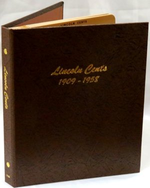 Dansco Album Lincoln Wheat Cents 1909-1958 <p><B><font size=3.5 color=red>*TEMPORARILY OUT OF STOCK*<font size=3 color=black><B><p> DN7103