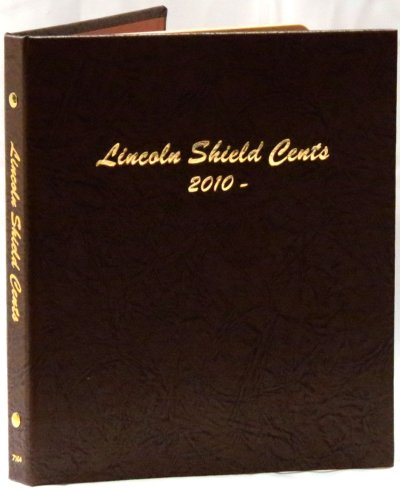 Dansco Album Lincoln Shield Cents 2010-2027D DN7104