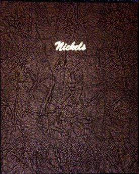 Dansco Album Nickels Plain 140 ports<p><B><font size=3.5 color=red>*TEMPORARILY OUT OF STOCK*<font size=3 color=black><B><p> DN7117