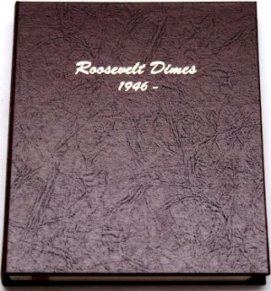 Dansco Album Roosevelt Dimes 1946-2026P  <p><B>*TEMPORARILY OUT OF STOCK*<B><p> DN7125