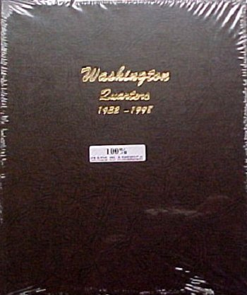 Dansco Album Washington Quarters 1932-1998<p><B><font size=3.5 color=red>*TEMPORARILY OUT OF STOCK*<font size=3 color=black><B><p> DN7140