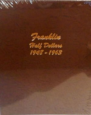 Dansco Album Franklin Half Dollar 1948-1963   <p><B><font size=3 color=red>*TEMPORARILY OUT OF STOCK*<font size=3 color=black><B><p> DN7165