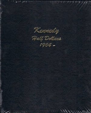 Dansco Album Kennedy Half Dollar 1964-2027<p><B>*TEMPORARILY OUT OF STOCK*<B><p> DN7166