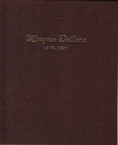 Dansco Album Morgan Dollars 1878-1890<p><B><font size=3.5 color=red>*TEMPORARILY OUT OF STOCK*<font size=3 color=black><B><p> DN7178