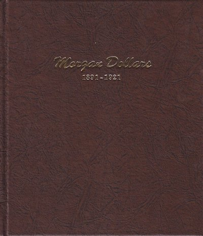 Dansco Album Morgan Dollars 1891-1921 <p><B>*TEMPORARILY OUT OF STOCK*<B><p> DN7179