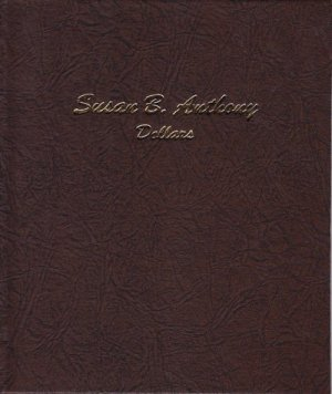 Dansco Album Susan B. Anthony (SBA) Dollars 1979-1999  <p><B><font size=3 color=red>*TEMPORARILY OUT OF STOCK*<font size=3 color=black><B><p> DN7180