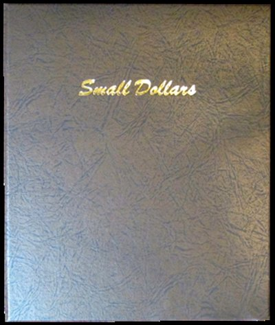 Dansco Album Small Dollars Plain 64 ports, 26.5mm DN7187