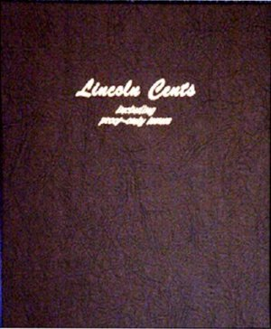 Dansco Album Lincoln Cents 1909-2009 including proofs DN8100