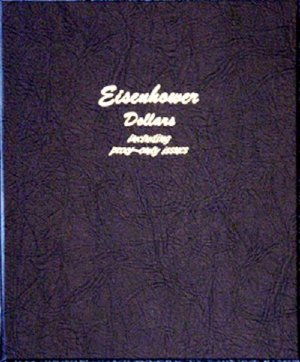 Dansco Album Eisenhower Dollars 1971-1978 including proofs <p><B><font size=3.5 color=red>*TEMPORARILY OUT OF STOCK*<font size=3 color=black><B><p> DN8176