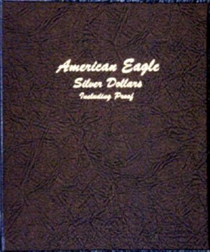 Dansco Album American Silver Eagle Dollars 86-06 including proofs  <p><B><font size=3 color=red>*TEMPORARILY OUT OF STOCK*<font size=3 color=black><B><p> DN8181