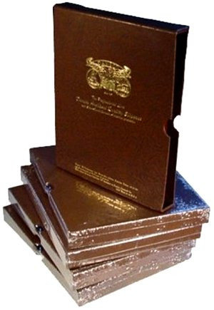 Dansco 5/8 inch Album Slipcase For all Dansco coin albums with 5/8 inch binders  DNSC58