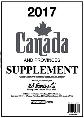 H.E.Harris CANADA 2017 Supplement HECAN17
