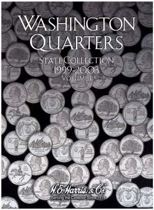 HE Harris Coin Folder Statehood Quarter Folder No. 1, 1999-2003 PD HECF2580